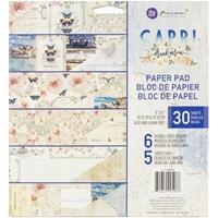 """Εικόνα του Prima Marketing Μπλοκ Scrapbooking Διπλης Όψης 8""""X8"""" - Capri"""