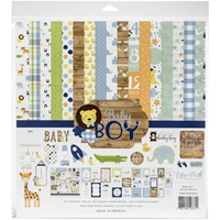 "Εικόνα του Echo Park Collection Kit 12""X12"" - Baby Boy"