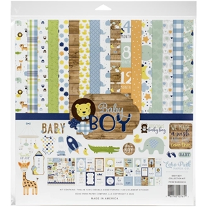 "Picture of Echo Park Collection Kit 12""X12"" - Baby Boy"