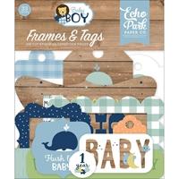 Εικόνα του Echo Park Cardstock Ephemera - Baby Boy