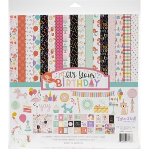 "Picture of Echo Park Collection Kit 12""X12"" - It's Your Birthday Girl"