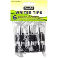 Εικόνα του DecoArt Accessories Writer Tips 6/Pkg