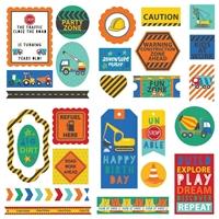Εικόνα του Little Builder Ephemera Cardstock Die-Cuts