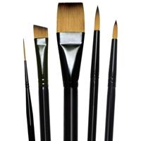 Εικόνα του Majestic Watercolor Deluxe Brush Set - Σετ Πινέλων
