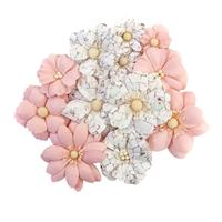 Εικόνα του Pretty Mosaic Χάρτινα Λουλούδια Mulberry - Cracked Marble