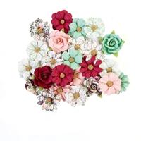 Εικόνα του Pretty Mosaic Χάρτινα Λουλούδια Mulberry - Larimar