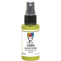 Εικόνα του Dina Wakley Media Gloss Sprays - Olive