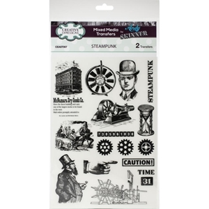 Picture of Creative Expressions Andy Skinner Mixed Media Transfers - Steampunk