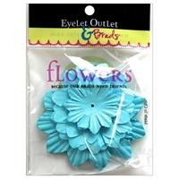 Εικόνα του Eyelet Outlet Χάρτινα Λουλούδια - Blue