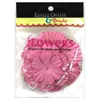 Εικόνα του Eyelet Outlet Χάρτινα Λουλούδια - Pink