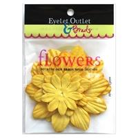 Εικόνα του Eyelet Outlet Χάρτινα Λουλούδια - Yellow