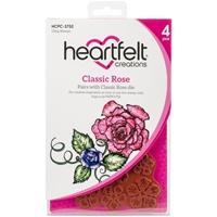 Εικόνα του Heartfelt Creations Σετ Σφραγίδες Cling Rubber - Classic Rose