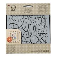 Εικόνα του FolkArt Stencil 6x6 - Crackle