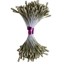 Εικόνα του Κατασκευή Λουλουδιών Dress My Craft Pastel Thread Pollen - Old Olive