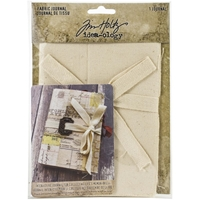 "Εικόνα του Tim Holtz Idea-Ology Fabric Journal 4""X6"""