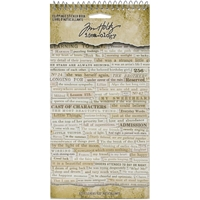 "Εικόνα του Tim Holtz Idea-Ology Sticker Book 4.5""X8.75"" - Clippings"