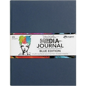 """Picture of Dina Wakley Media Journal 8""""X10"""" - Blue Edition"""