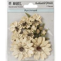 Εικόνα του 49 And Market Χάρτινα Λουλούδια Enchanted Petals - Parchment