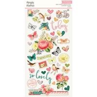 """Εικόνα του Simple Stories Simple Vintage Garden District Chipboard Stickers 6""""X12"""""""