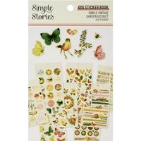 Εικόνα του Simple Vintage Garden District Sticker Book