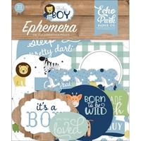 Εικόνα του Echo Park Cardstock Ephemera - Baby Boy Icons