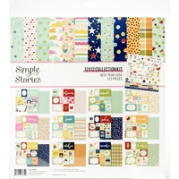 "Εικόνα του Simple Stories Collection Kit 12""X12"" - Best Year Ever"
