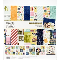 "Εικόνα του Simple Stories Collection Kit 12""X12"" - Going Places"