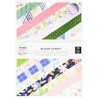 """Εικόνα του Pink Paislee Single-Sided Paper Pad 6""""X8"""" - Bloom Street"""