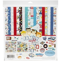 """Εικόνα του Carta Bella Collection Kit 12""""X12"""" - Family Night"""