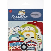 Εικόνα του Carta Bella Family Night Cardstock Ephemera - Icons