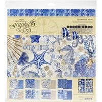 "Εικόνα του Graphic 45 Collection Pack 12""X12"" - Ocean Blue"