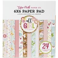 """Εικόνα του Echo Park Double-Sided Paper Pad 6""""X6"""" - All Girl"""