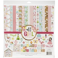 "Εικόνα του Echo Park Collection Kit 12""X12"" - All Girl"