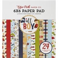 """Εικόνα του Echo Park Double-Sided Paper Pad 6""""X6"""" - All Boy"""