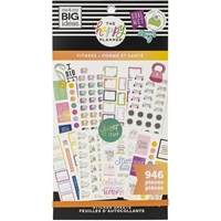 Εικόνα του Create 365 Happy Planner Sticker Value Pack - Fitness Workout