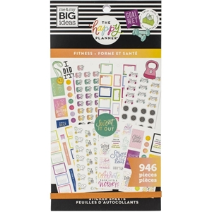 Picture of Create 365 Happy Planner Sticker Value Pack - Fitness Workout