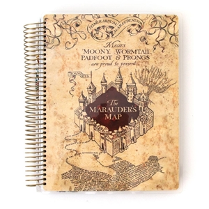 Picture of Paper House Life Organized 12-Month Undated Planner - Marauder's Map