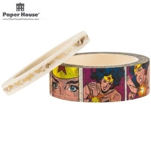 Picture of Paper House Washi Tape - Wonder Woman Comic