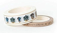 Εικόνα του Paper House Washi Tape - Harry Potter House Crests