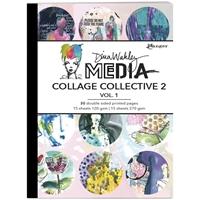 Εικόνα του Dina Wakley Media Mixed Media Collage Collective 2 - Vol. 1