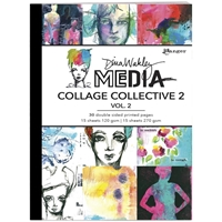 Εικόνα του Dina Wakley Media Mixed Media Collage Collective 2 - Vol. 2