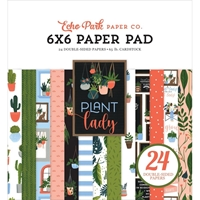 "Εικόνα του Echo Park Double-Sided Paper Pad 6""X6"" - Plant Lady"