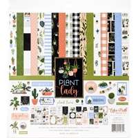 "Εικόνα του Echo Park Collection Kit 12""X12"" - Plant Lady"
