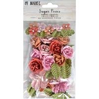 Εικόνα του 49 And Market Χάρτινα Λουλούδια Sugar Posies - Tutti Frutti