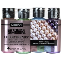 Εικόνα του DecoArt Extreme Sheen Color Trends Value Pack - Pretty 'n Pearls