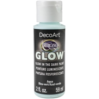 Εικόνα του Americana Glow In The Dark Paint - Aqua