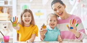 Μένουμε σπίτι και δημιουργούμε με τα παιδιά μας!