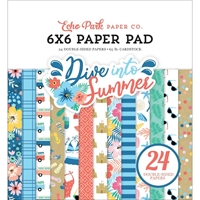 "Εικόνα του Echo Park Double-Sided Paper Pad 6""X6"" - Dive Into Summer"