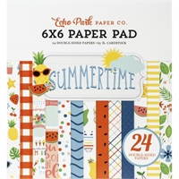 "Εικόνα του Echo Park Double-Sided Paper Pad 6""X6"" - Summertime"