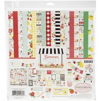 "Εικόνα του Carta Bella Collection Kit 12""X12"" - Summer Market"